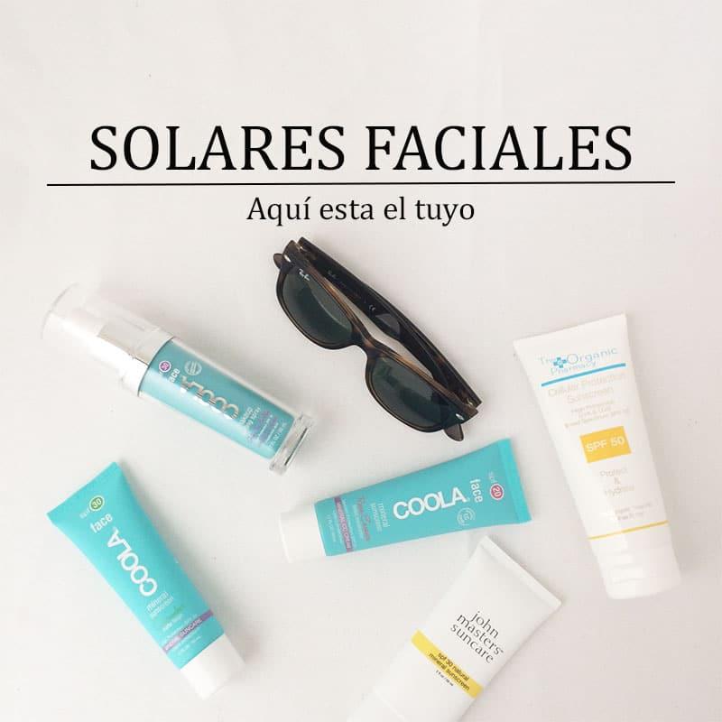 Solares faciales naturales