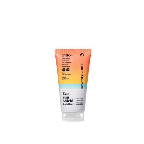 Protector solar filtro físico invisible - Eco Sun Shield SPF50+ (todas las pieles)