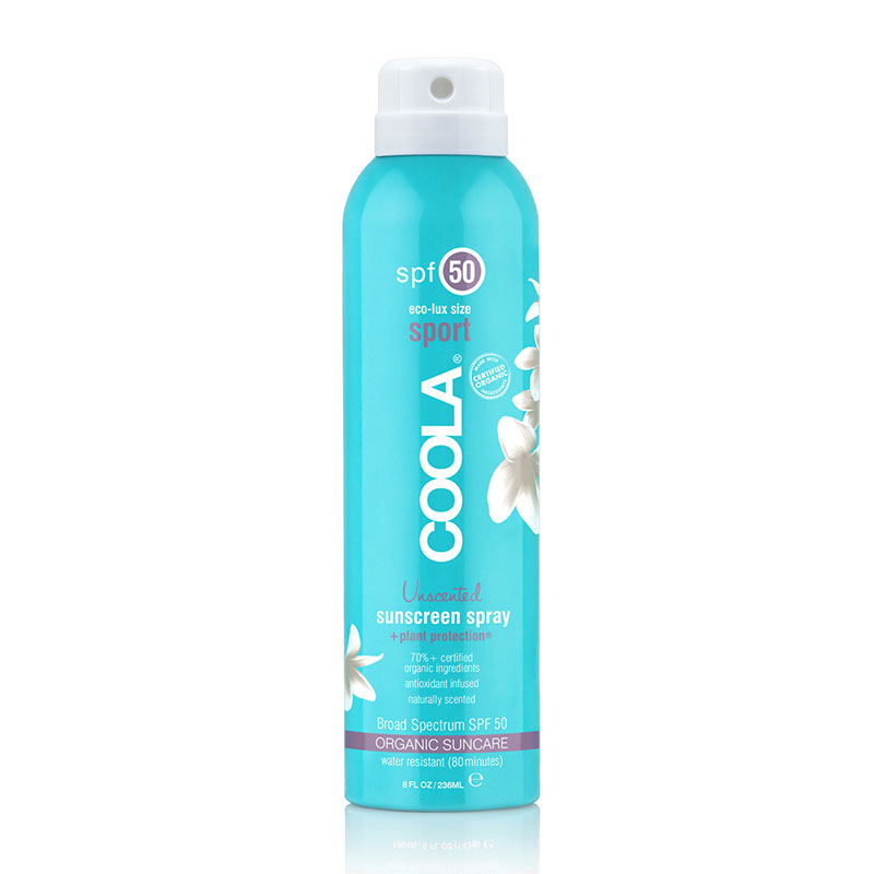 COOLA: PROTECTOR SOLAR SPRAY SPF 50 SIN PERFUME - MADE IN TRIBE