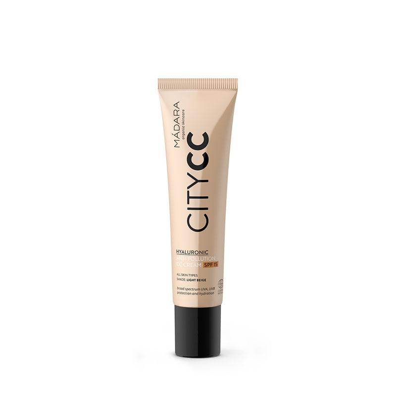 Mádara: CC Cream SPF15 Anti-polución (tono light)