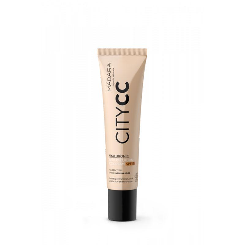 Mádara: CC Cream SPF15 Anti-polución (tono medium)