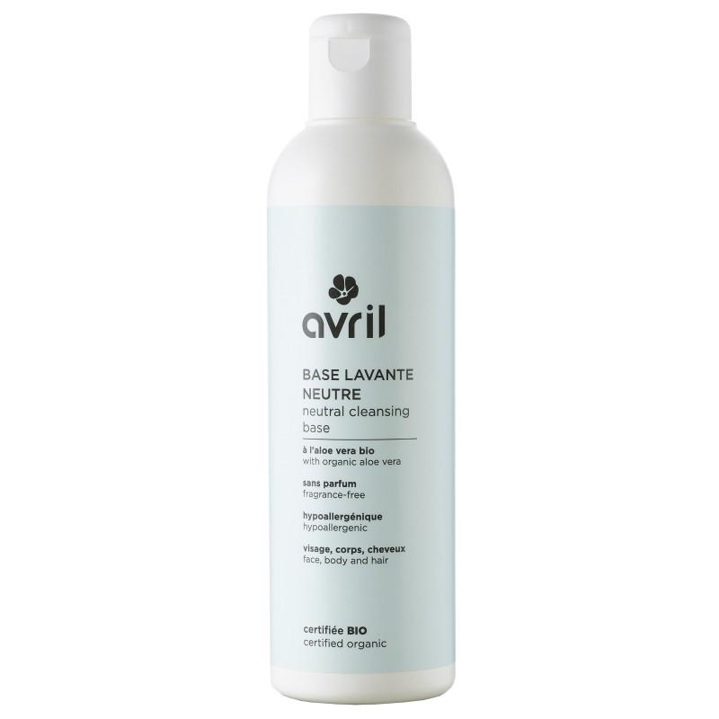 Avril: Limpiador cara, cuerpo y pelo sin perfume (pieles sensibles)