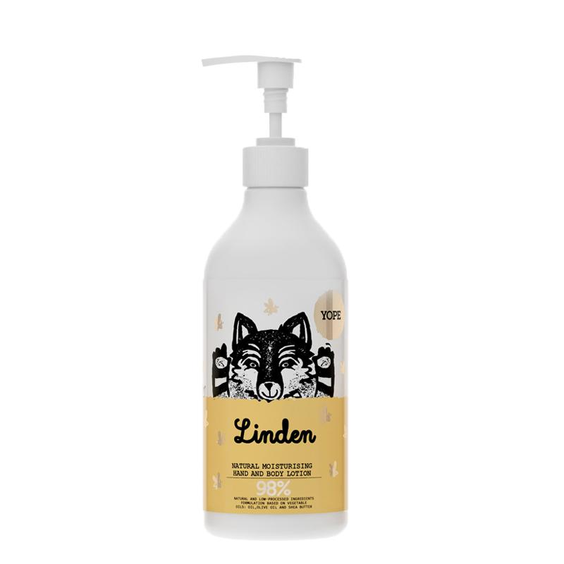 Crema hidratante corporal - aroma Tilo (500ml)