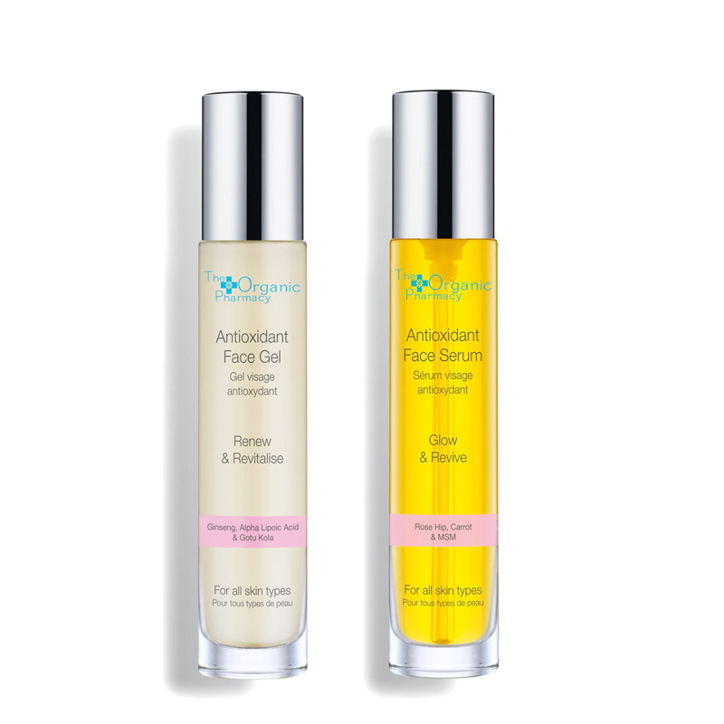 Duo Antioxidant - Antioxidant Face Gel y Face Serum