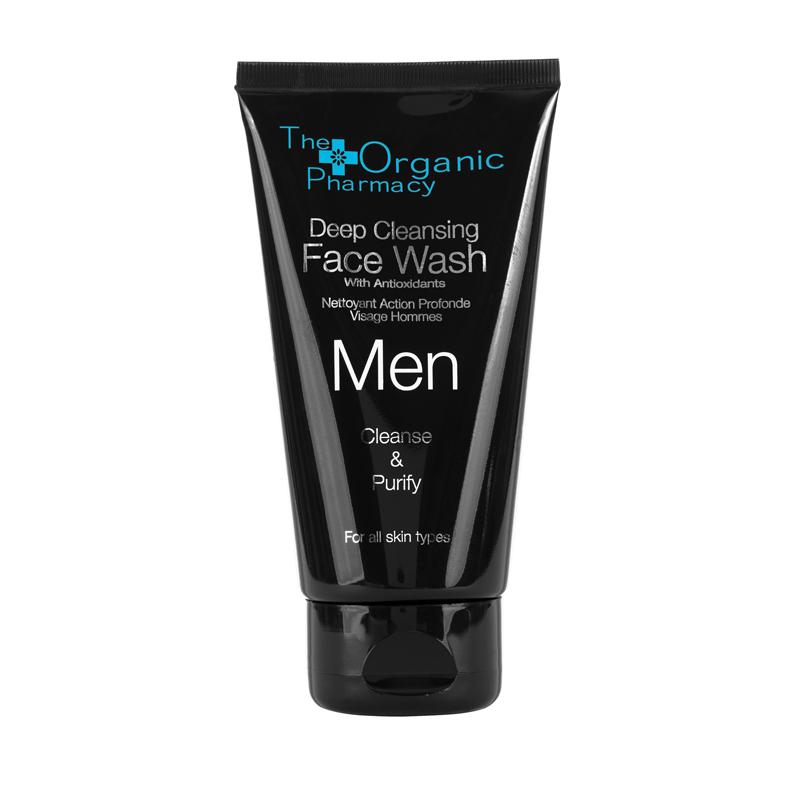 Deep cleansing face wash (Limpiador facial Masculino)