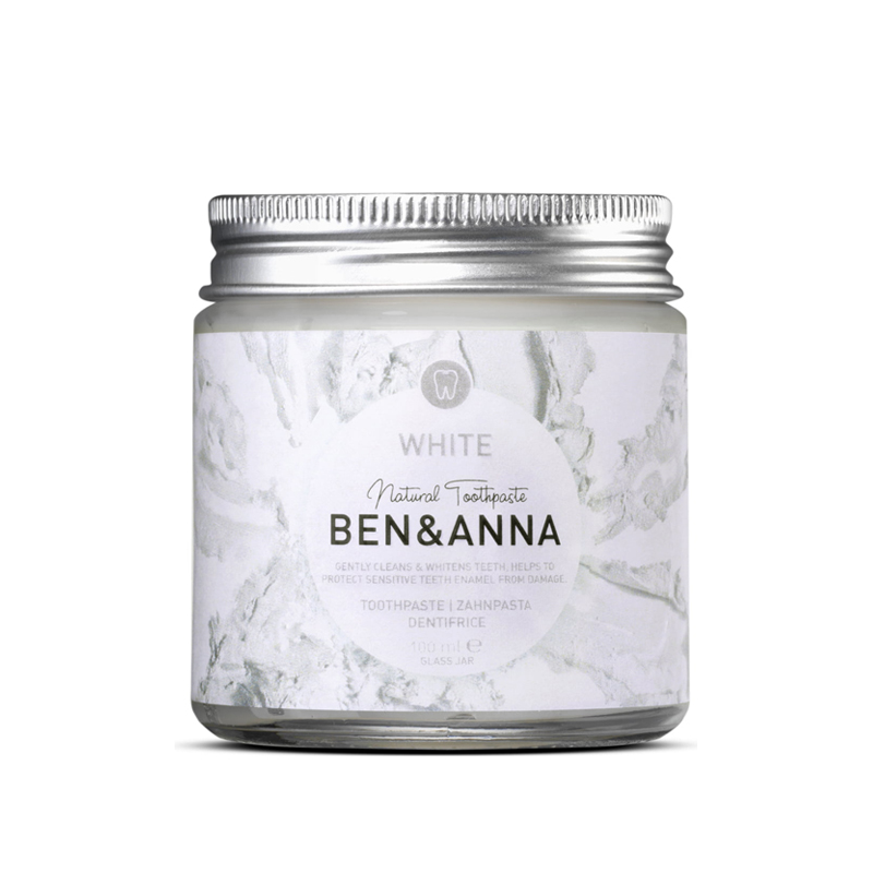Pasta de dientes efecto blanqueante - White Toothpaste sin plástico
