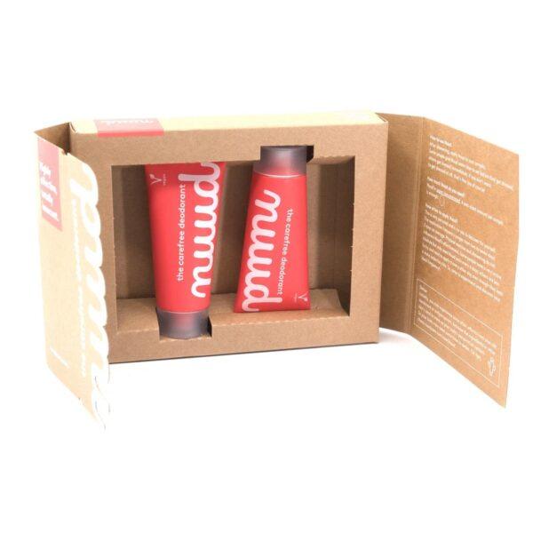Pack Doble Nuud (2 X 20ml) : el desodorante que dura días
