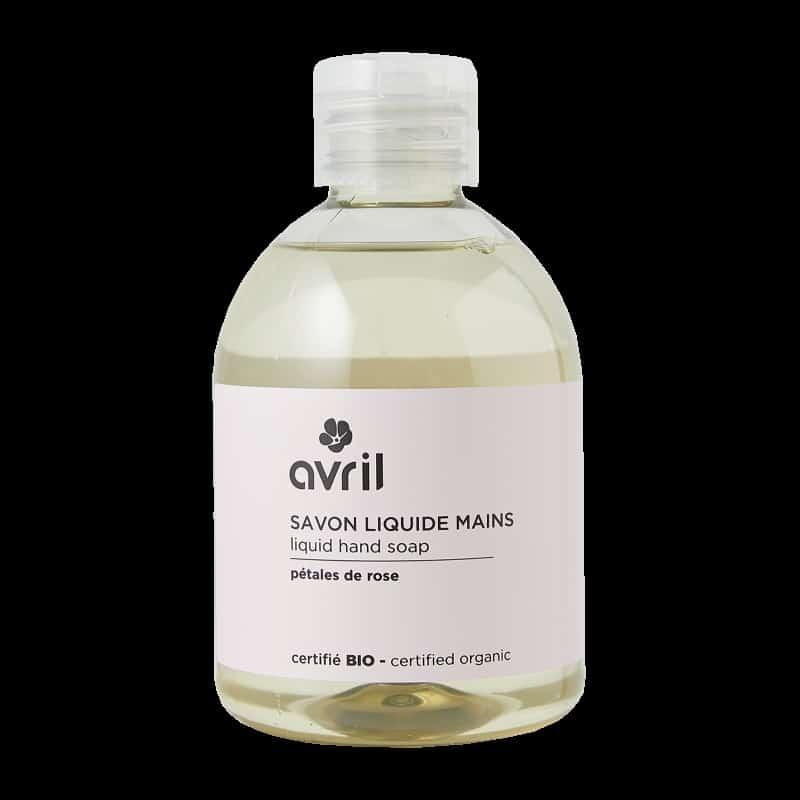 Jabón de manos sin dosificador - Aroma pétalos de rosa