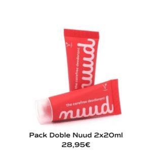 Nuud, el desodorante que dura hasta 7 días