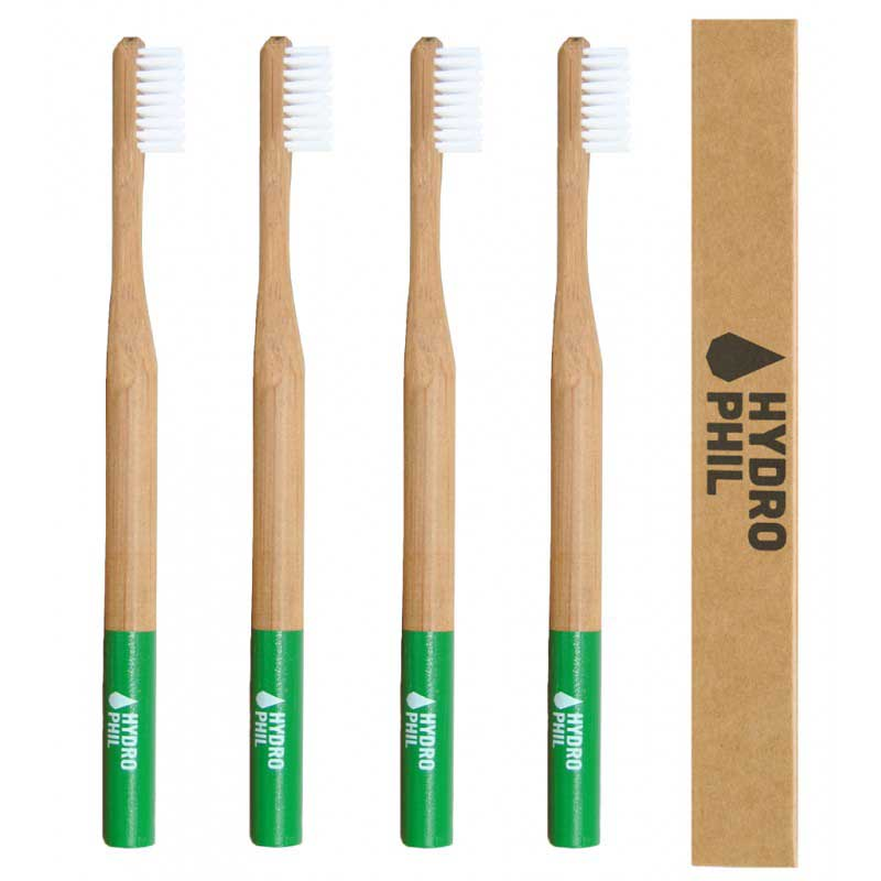 Cepillo de dientes de bambú VERDE