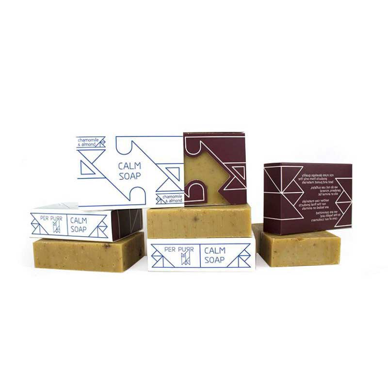 Jabón Calm Pieles Sensibles (Manzanilla y Almendras)