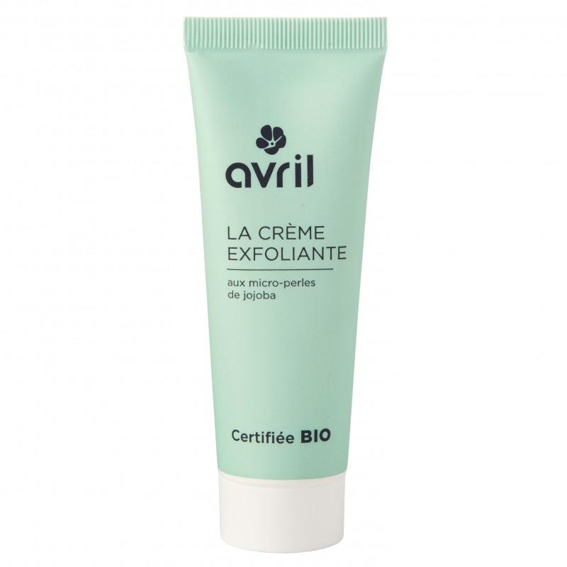 La crème exfoliant - gommage visage (exfoliante facial)
