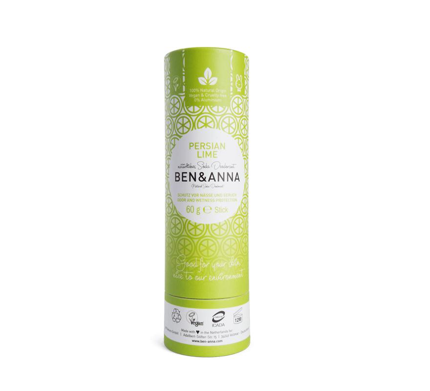 Desodorante natural sin plástico Persian Lime