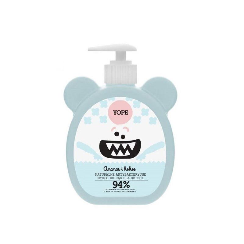 Gel de manos antibacteriano niños - aroma Piña y Coco (400ml)