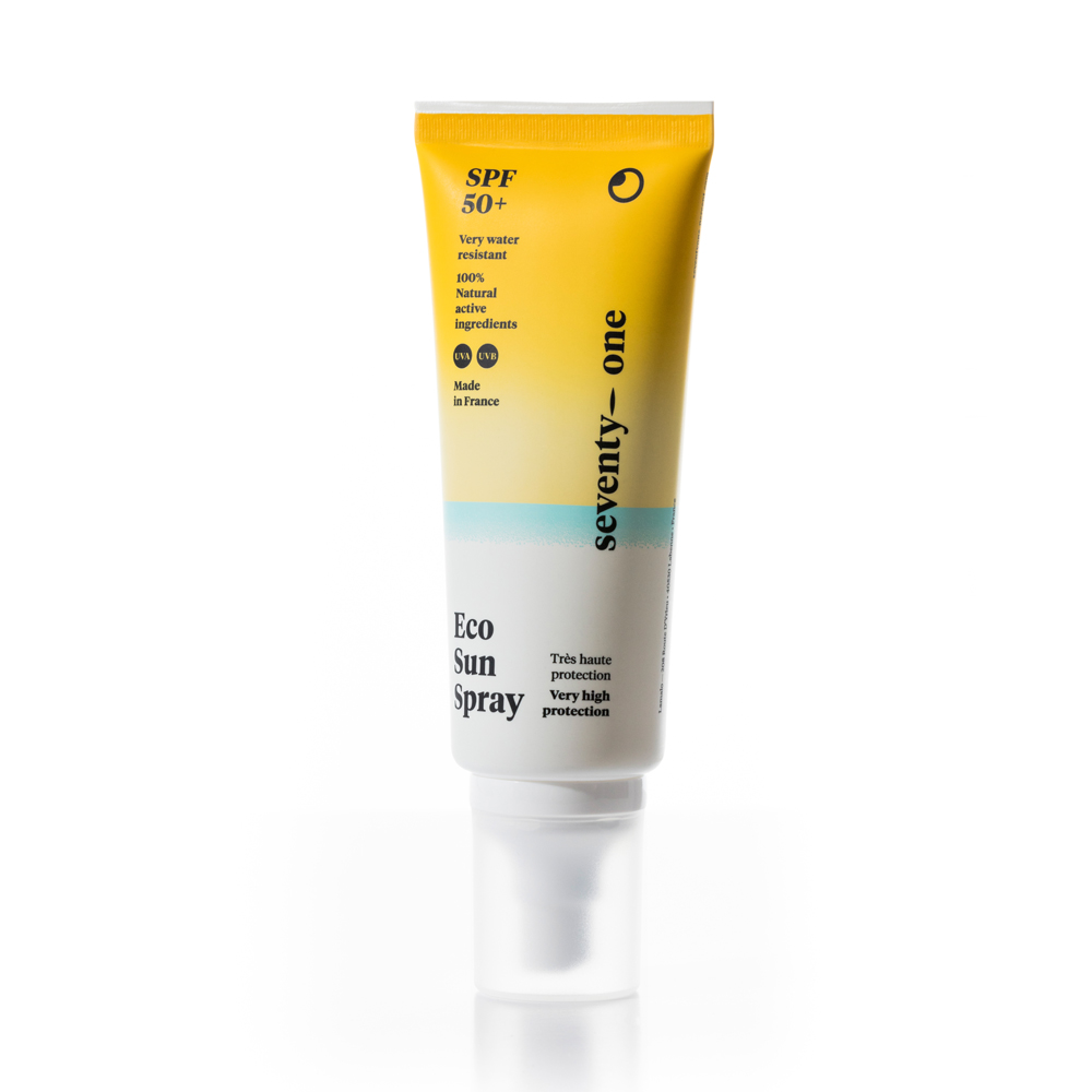 Eco Sun Spray SPF50+ invisible - Protector solar físico cara y cuerpo