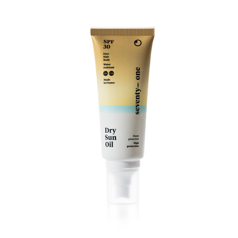 Dry Sun Oil SPF30 - Aceite protector para pelo, cuerpo y cara