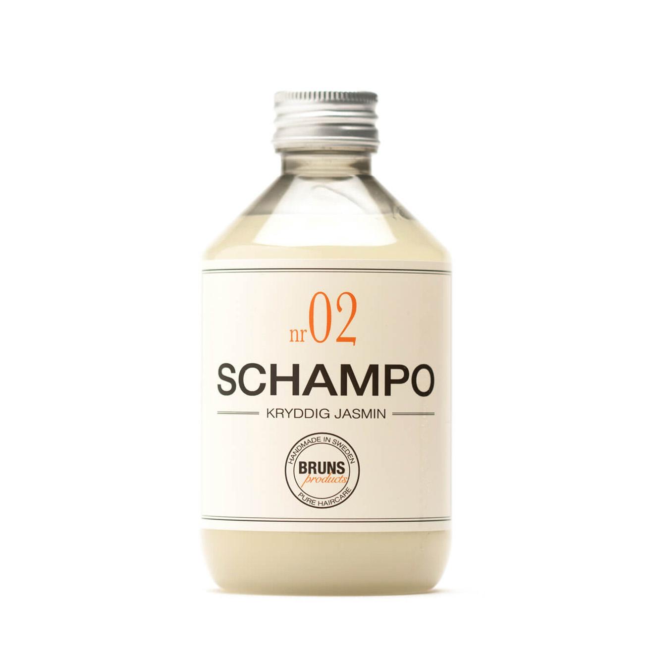 Champú Nº2 Jazmín - Hidratación para cabello seco