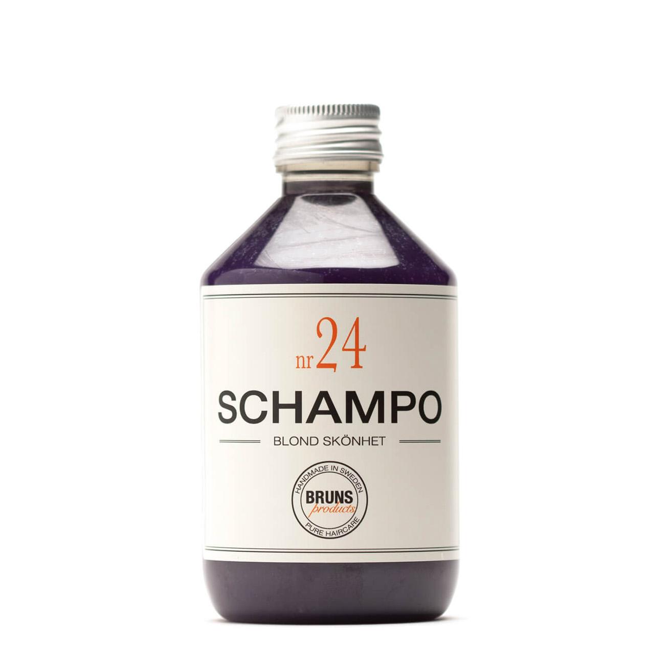 Champú Nº24 Blonde - Cabellos grises o con mechas rubias
