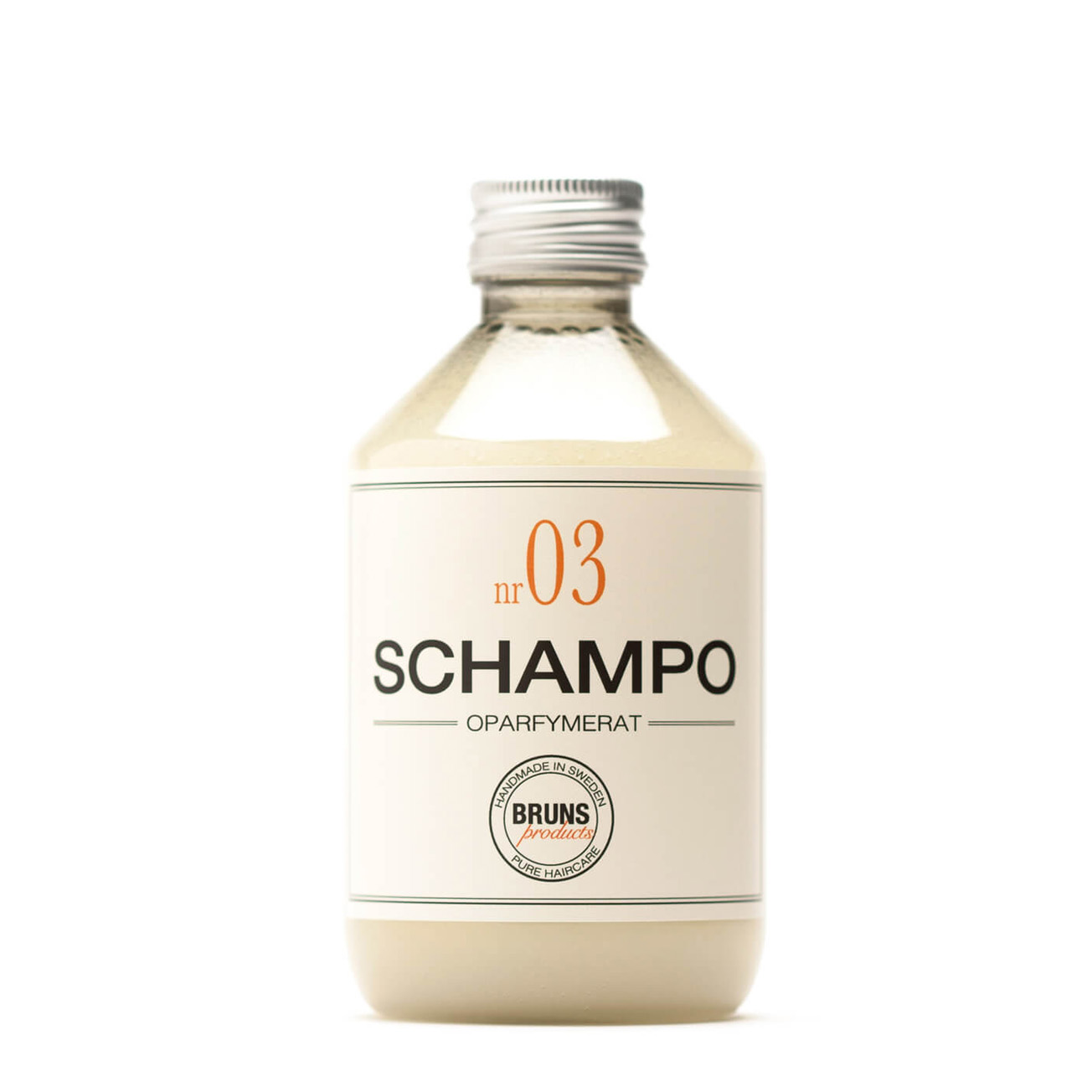 Champú Nº3 Sin Perfume 330ml - Embarazo, familia, alergias
