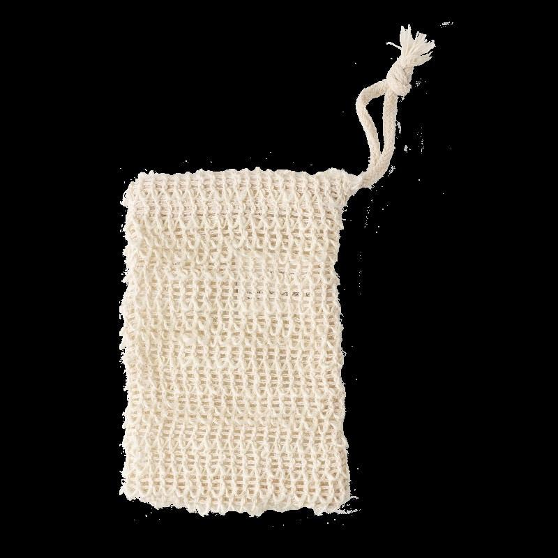 Bolsita de sisal para jabones y champús sólidos